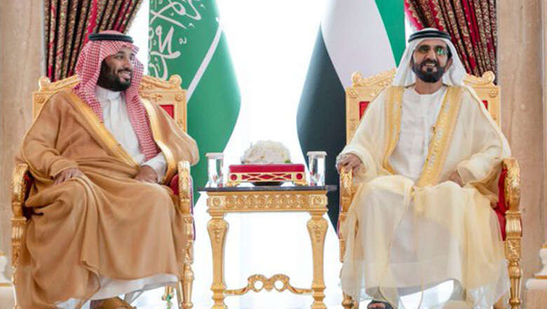 saudi crown prince mohammed bin salman, dubai ruler, uae visit, sheikh mohammed