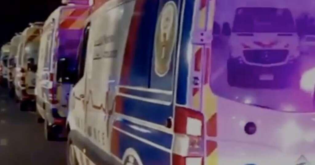 uae building fire, national ambulance, dubai